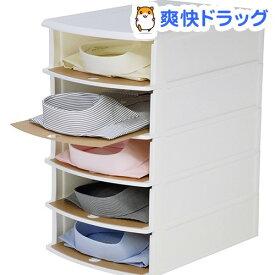 Yシャツケース ホワイト(1台入)