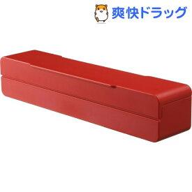 マグネットラップケース アクア S レッド(1コ入)【山崎実業】
