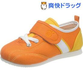 アサヒ健康くん P037 オレンジ KC50031- 19.5cm(1足)