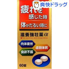 【第3類医薬品】滋養強壮薬α(60錠)【皇漢堂】