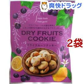 ドライフルーツクッキー(40g*2袋セット)【げんきタウン】