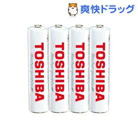 東芝 充電池 単4形 4本パック TNH-4ME(WB)(4本入)