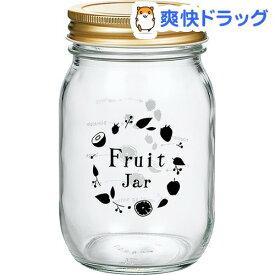 キッチンジャー フルーツ柄 日本製 約485ml HW-522-J303(1個入)