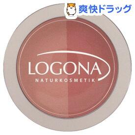 ロゴナ チークカラー デュオ 02 ピーチ&アプリコット(10g)【ロゴナ(LOGONA)】