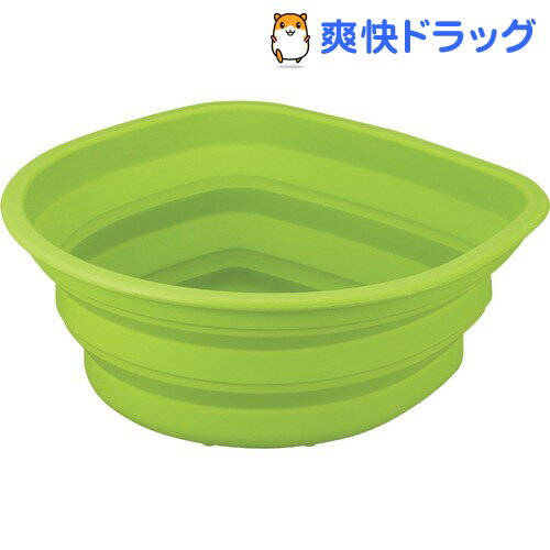 ポゼ シリコン洗桶 グリーン(1コ入)【ポゼ(シンク廻り商品)】