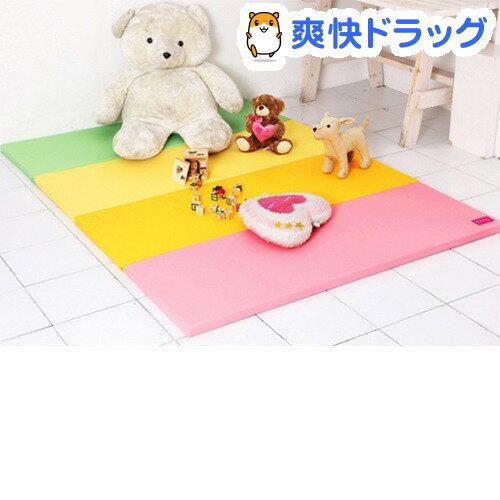 リバーシブルクッションマット 4色パステル(1コ入)【送料無料】