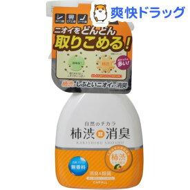 カーオール 柿渋消臭ミスト 無香料(250mL)【カーオール】