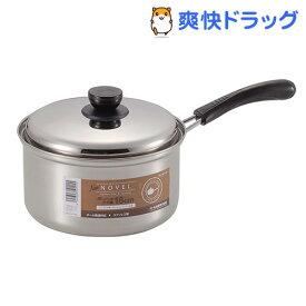 NEWノヴェル ステンレス製 片手鍋 18cm HB-115(1コ入)【ノヴェル】