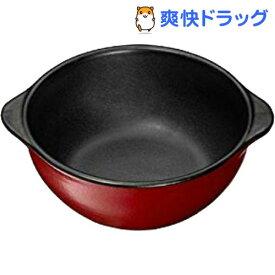 イシガキ産業 chocotto 電子レンジ オーブン対応 耐熱スープポット レッド(1コ入)