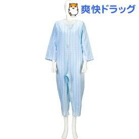 ソフトケア ねまき 薄手 ブルー LL(1枚入)【ソフトケア(介護用品)】