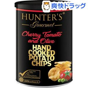 ハンター ポテトチップス トマト&オリーブ風味(150g)
