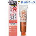 トゥービー・ホワイト 薬用デンタルペースト(100g)【トゥービー・ホワイト】