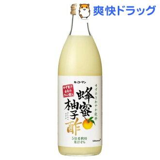 龟甲万蜂蜜柚子醋 (500 毫升)