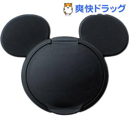 ミッキーマウス ウエットティッシュふた ブラック(1コ入)