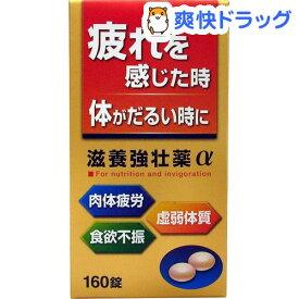 【第3類医薬品】滋養強壮薬α(160錠)【皇漢堂】