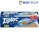 ジップロック フリーザーバッグ M(16枚*2コセット)【Ziploc(ジップロック)】