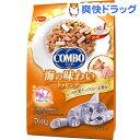 コンボ 猫下部尿路の健康維持 かつお味・鮭チップ・かつお節添え(140g*5袋入)【コンボ(COMBO)】[キャットフード]
