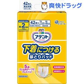 アテント 下着につける尿とりパッド(42枚入)【kt09】【アテント】