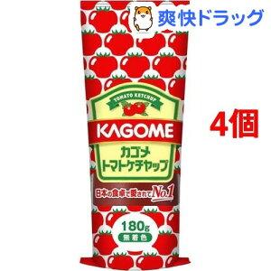 カゴメ トマトケチャップ(180g*4コセット)【カゴメトマトケチャップ】