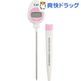 カイハウス セレクト 温度が見やすいデジタル表示の温度計 DH7117(1コ入)【Kai House SELECT】
