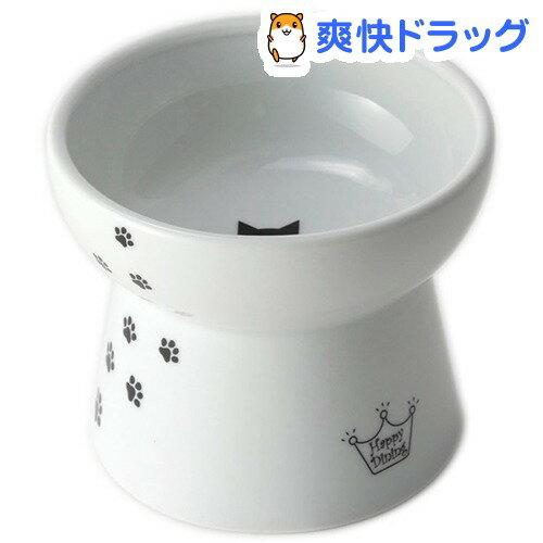 猫壱 脚付フードボウル L(1コ入)【猫壱】