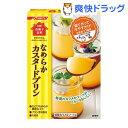 日清 お菓子百科 なめらかカスタードプリン(55g)【お菓子百科】