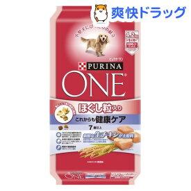 ピュリナワン ドッグ ほぐし粒入り 7歳以上 これからも健康ケア チキン(4.2kg)【d_one】【d_one_dog】【ピュリナワン(PURINA ONE)】