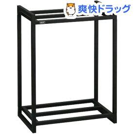 45cm水槽用 組立2段台 ブラック(1コ入)
