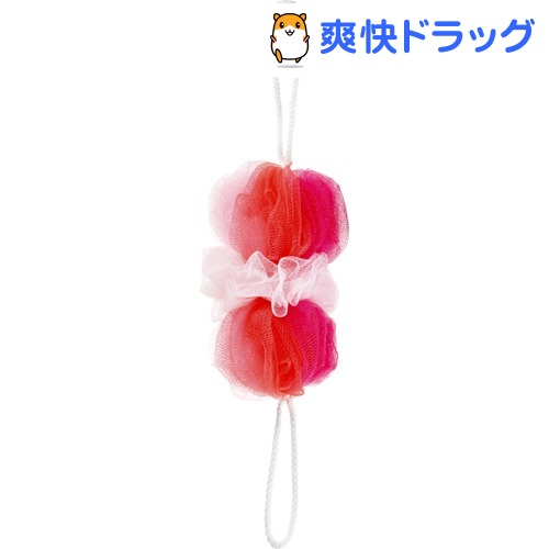 マーナ 背中も洗えるシャボンボール ミックス ピンク B873P(1コ入)【マーナ】