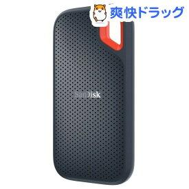 SanDisk エクストリーム ポータブル SSD500GB SDSSDE60-500G-J25(1個)