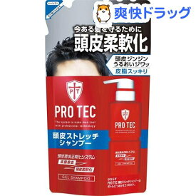 プロテク 頭皮ストレッチ シャンプー 詰替え(230g)【PRO TEC(プロテク)】