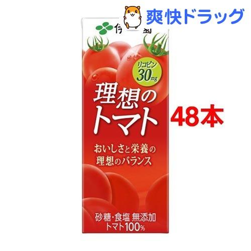 伊藤園 理想のトマト 紙パック(200mL*48本セット)