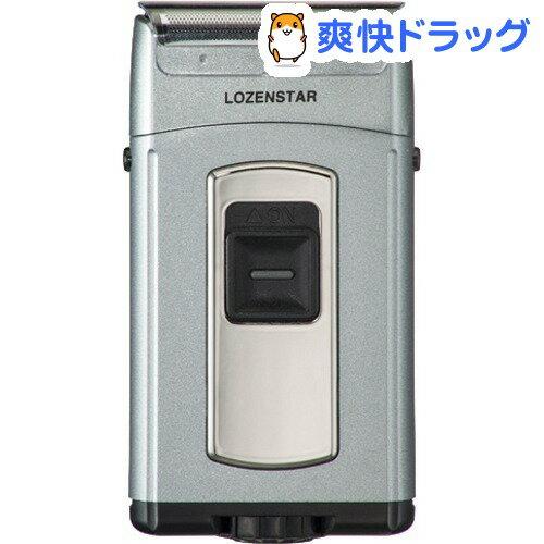 ロゼンスター メンズシェーバー 水洗い・ポケそり3枚刃 侍シリーズ メタリックグレー S-686K(1コ入)【ロゼンスター(LOZENSTAR)】