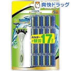 シック ハイドロ5プレミアム 敏感肌用 クラブパック(本体+替刃17コ)【シック】