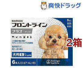 【動物用医薬品】フロントラインプラス 犬用 S 5〜10kg未満(6本入*2箱セット)【フロントラインプラス】