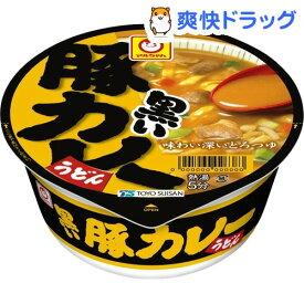 マルちゃん 黒い豚カレーうどん(87g*12個入)【マルちゃん】