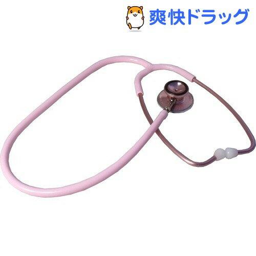 ナースコープ ダブル聴診器 内バネ式 ピンク(1コ入)【ナースコープ】