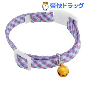 ペティオ エニーキャット カラー チェック パープル(1コ入)【エニーキャット(Anycat)】