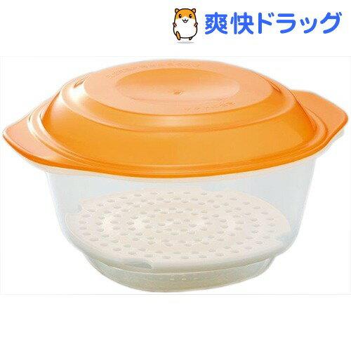 日本製 使い分け レンジ容器 肉まん&枝豆 蒸し器(1コ入)