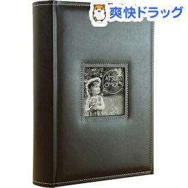 万丈 メガアルバム600 ATSUIOMOI BROWN AO-600BR(1コ入)