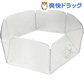 ハムスター ジョイントクリアーサークル N02(1コ入)【WILD(ワイルド)】