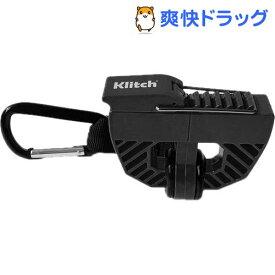 クリッチ Klitch シューズクリップ カラビナ付 KLITCH SPORTS ブラック KLSPT BK(1個)