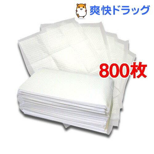 国産ペットシーツ レギュラー 薄型プラス(200枚入*4コセット)【オリジナル ペットシーツ】