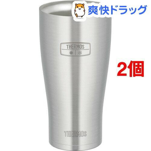 サーモス 真空断熱タンブラー JDE-600 S(2コセット)【サーモス(THERMOS)】【送料無料】