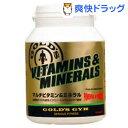 ゴールドジム マルチビタミン&ミネラル G2520(360粒)【ゴールドジム】