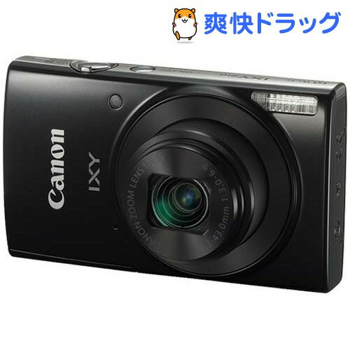 キヤノン デジタルカメラ IXY 210 (BK) ブラック(1台)【IXY(イクシ)】