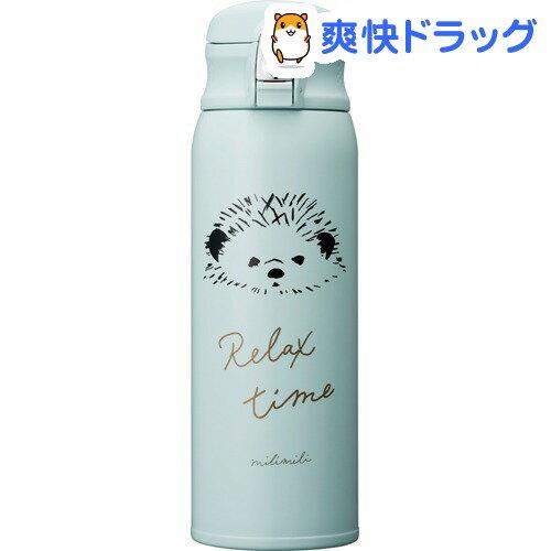 軽量シリーズ ミリミリ ワンタッチボトル480 FH ハリネズミ(1コ入)【ドウシシャ】【送料無料】