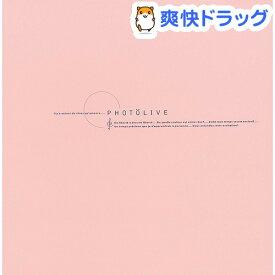 フエルアルバムDigio フォトライブ ビス式/Lサイズ レッド LPF-1002-R(1冊)【ナカバヤシ】