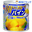 朝からフルーツ パイン(190g)【朝からフルーツ】[缶詰]