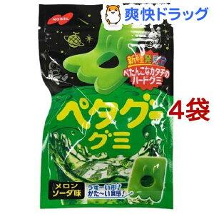 ペタグーグミ メロンソーダ味(50g*4袋セット)
